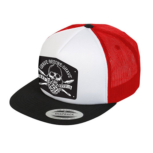 GBS Pine trucker Hat Red