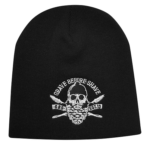 Grave Before Shave Pine Beanie