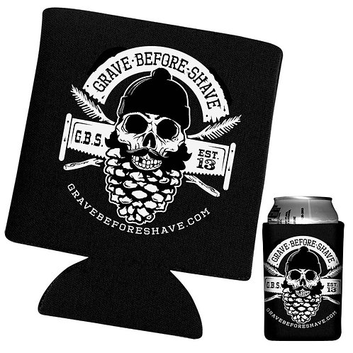 Grave Before Shave Pine Stubbie Holder