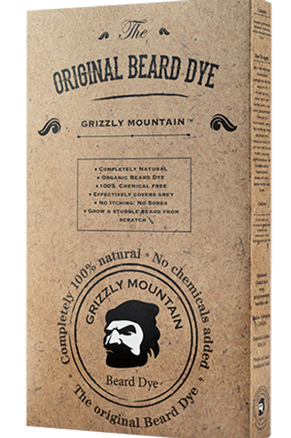Grizzly Mountain Beard Dye (Brown)