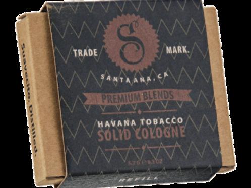 Suavecito Havana Tabacco Solid Cologne refil
