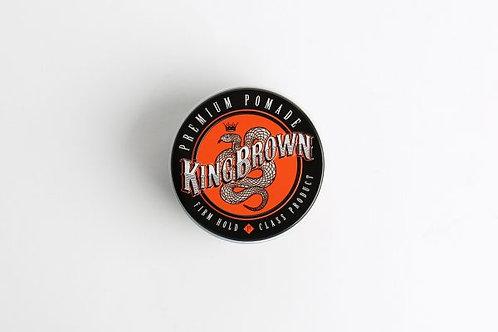 King Brown premium Pomade 2.6oz (75gm)
