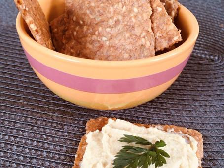 Crackers aux graines, rapide