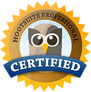 Hootsuite Certified Badge
