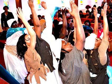 Bethel AME Church in Worship