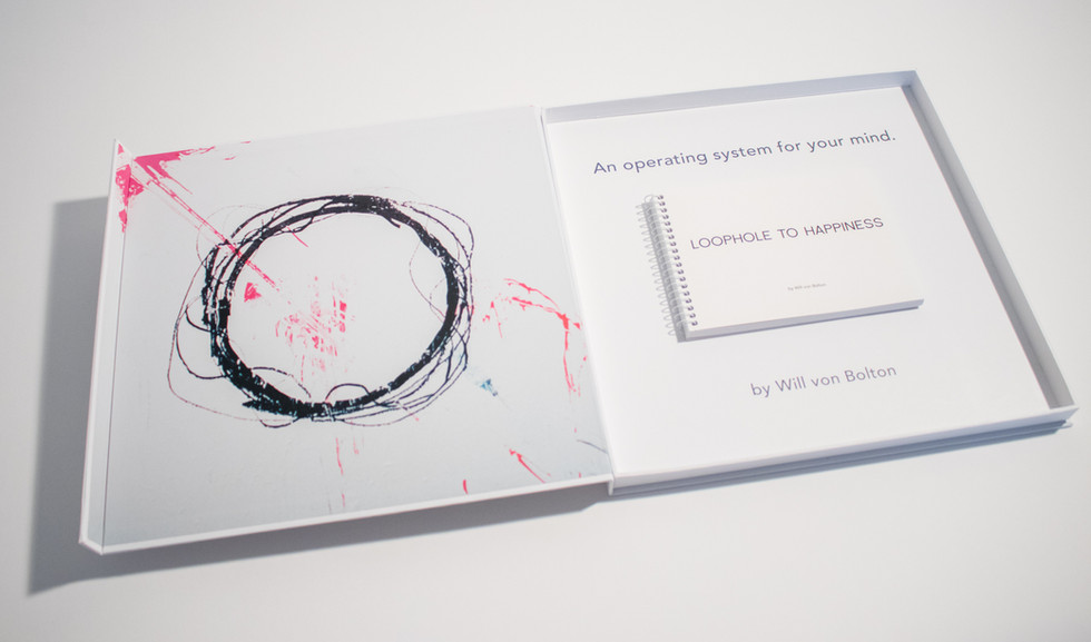 Loophole to Happiness Audiobook on Vinyl + Artbox