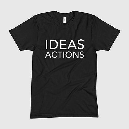 IDEAS ACTIONS Tee