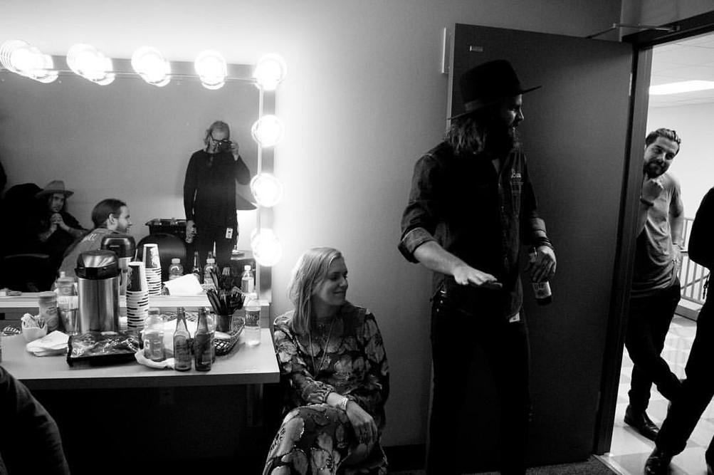 Backstage with the Texas Gentlemen
