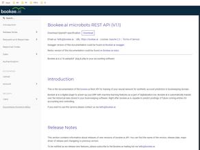 Microbots REST API v1.1 released