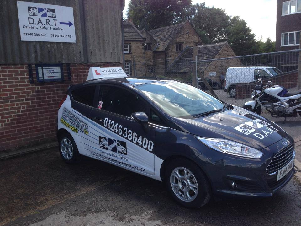Driving lessons Chesterfield