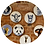Thumbnail: Conjunto  Ronn Kools II (5 peças)