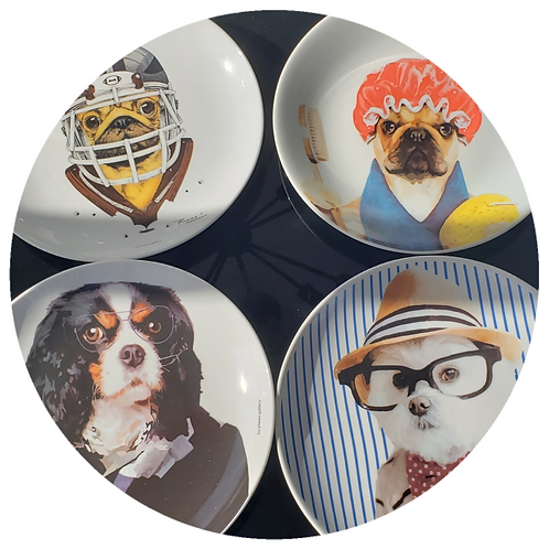 Conjunto Dogs Dani (4 peças) + Frete Jadlog Goiânia