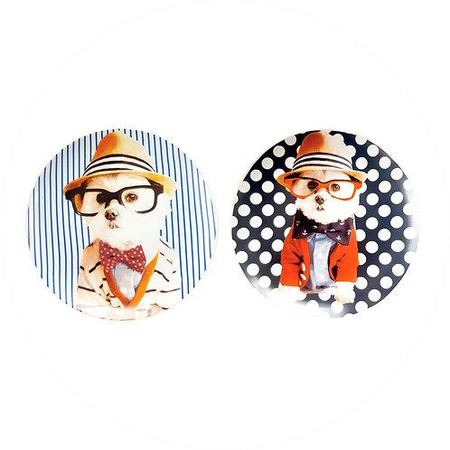 Conjunto Glasses Dogs (2 peças)