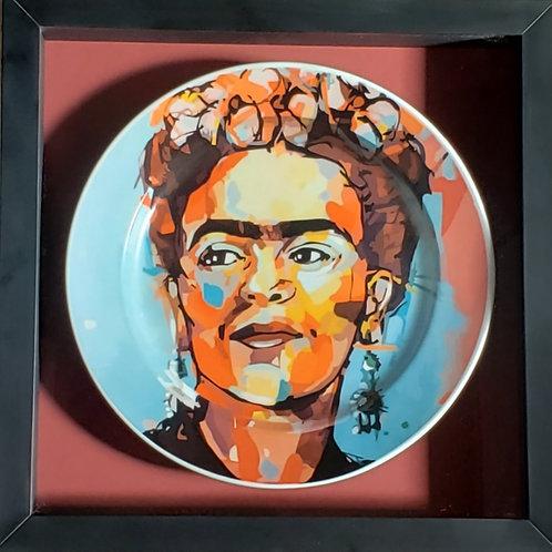 Color Frida - Emoldurada