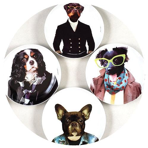 Conjunto Dogs (4 peças)