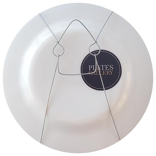 Suporte para parede, pratos de 17 a 20 cm diâmetro