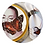 Thumbnail: Butterfly Woman - com filete de ouro