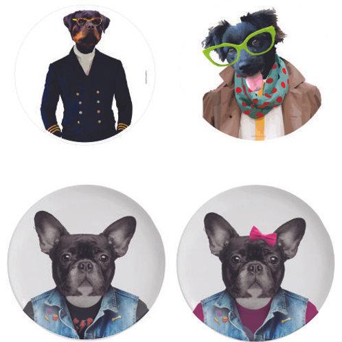 Conjunto Dogs Gabriella (4 peças com suportes) + frete Paraná