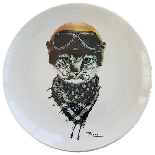 Color Biker Cat - Ronn Kools