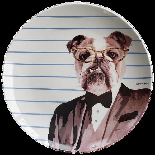 Bulldog Black Tie