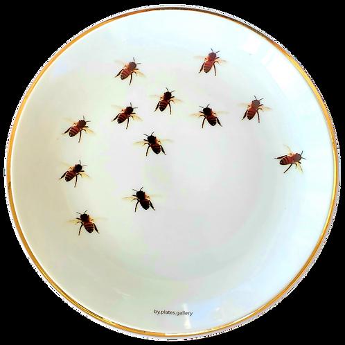 Abelhas com Filete de Ouro