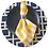 Thumbnail: Guardanapo  xadrez M amarelo e branco