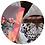 Thumbnail: Conjunto Blue Butterfly com guardanapos Cinza e Rosa (4 peças)