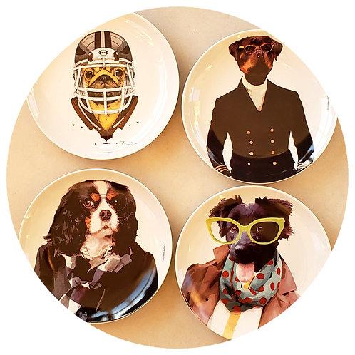 Conjunto Dogs II (4 peças)