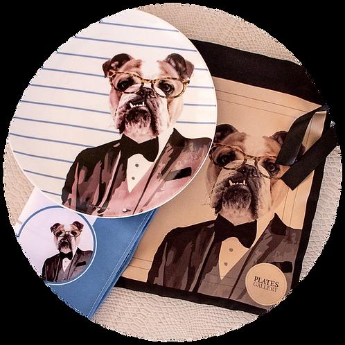 Conjunto Bulldog Black Tie