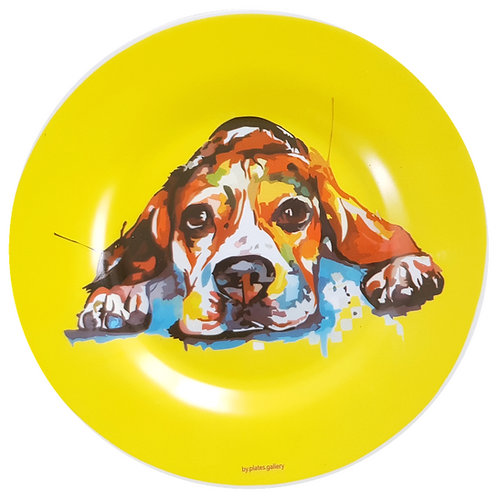 Yellow Dog (SOMENTE USO DECORATIVO)