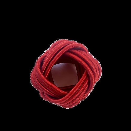 Argola de Guardanapo Vermelha