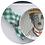 Thumbnail: Guardanapo  xadrez M verde e branco
