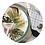 Thumbnail: 2 pratos Wild Woman+ 2 guardanapos + embalagem de tecido + caixa de MDF