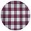 Thumbnail: Guardanapo xadrez M bordô e branco