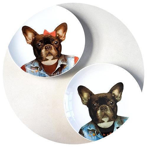 Conjunto Bulldogs Maria Eduarda (2 unidades) + Frete SC