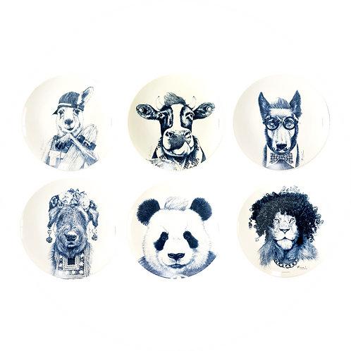Coleção Blue Animals Ronn Kools