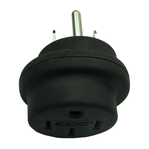 50 Amp Extension Plug top view