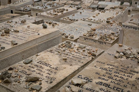 Jewish Tombs on the Mount of Olives