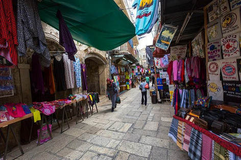Colorful Old City Jerusalem