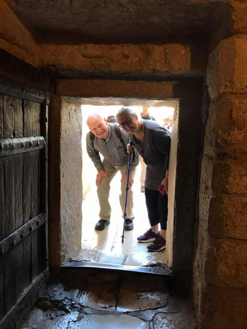 """Entering into the """"Church of the Holy Sepulcher"""""""