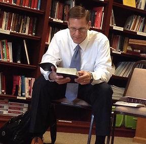 Teaching Bible Class in Dripping Springs