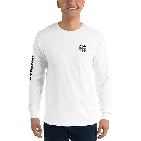 Unorthodox Performance Men's Long Sleeve Shirt White