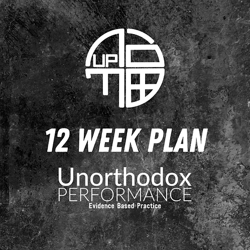 12 Week Nutrition Plan (Monthly)