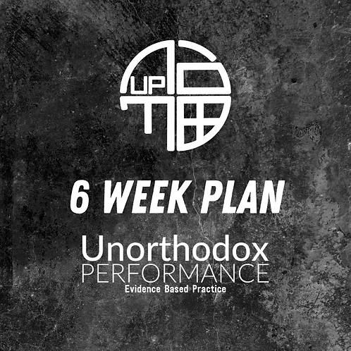 6 Week Nutrition Plan