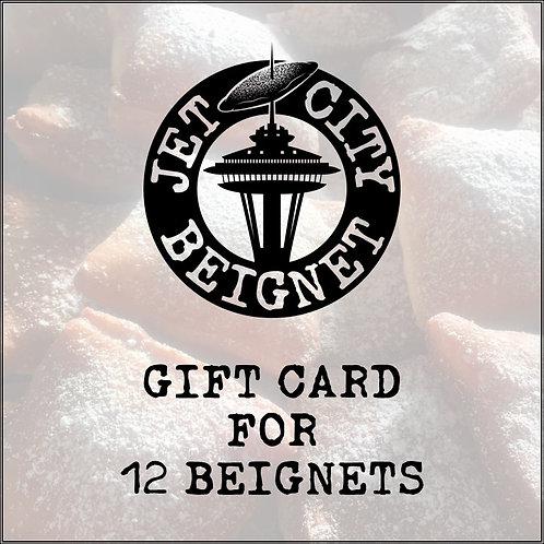 Gift Card - 12 Beignets