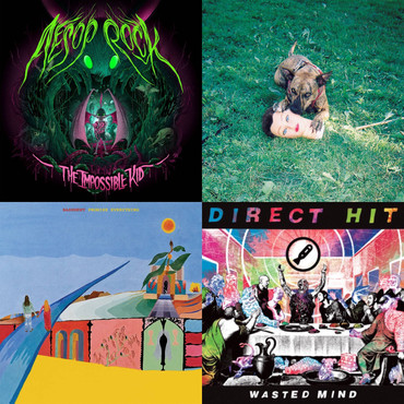 CHRISTIAN'S TOP TEN ALBUMS OF 2016 for GRIZZLYGROUND