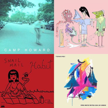 BECCA'S TOP TEN ALBUMS OF 2016 for GRIZZLYGROUND