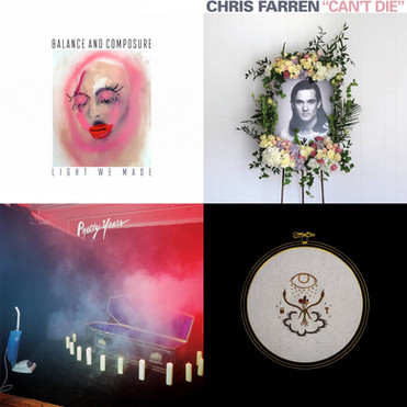 MIKE'S TOP TEN ALBUMS OF 2016 for GRIZZLYGROUND