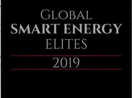 Award! 2019 Global Smart Energy Elite