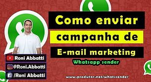 Como enviar campanha de email marketing